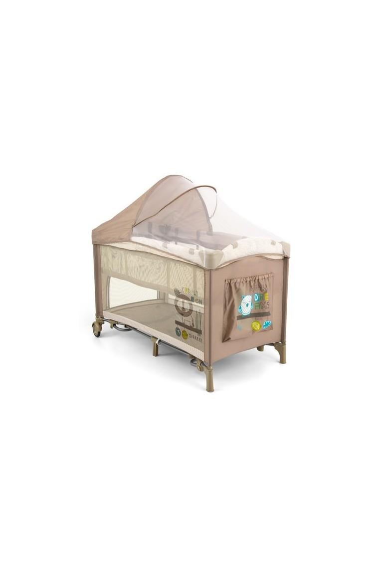 lit parapluie avec table langer mirage lion beige. Black Bedroom Furniture Sets. Home Design Ideas