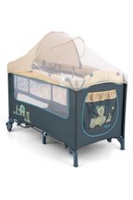 Lit parapluie avec table à langer Mirage Jouets Bleus