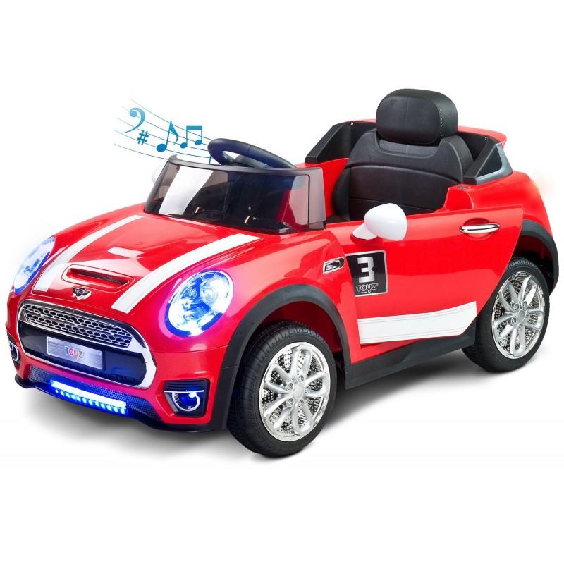 voiture lectrique maxi 12v rouge avec t l commande. Black Bedroom Furniture Sets. Home Design Ideas