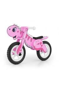 Dino rose - draisienne bois de vélo sans pédales