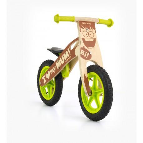 King Garçon - draisienne bois de vélo sans pédales
