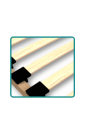 Lit gigogne en bois massif Ben 200x90 cm