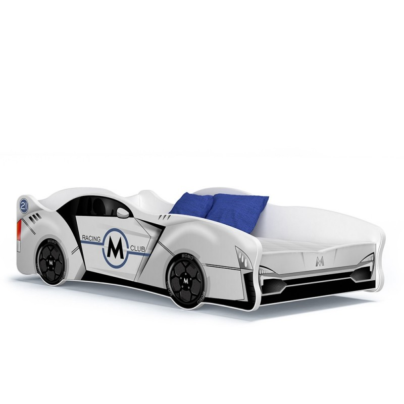 lit voiture fille gar on cars 160x80 cm. Black Bedroom Furniture Sets. Home Design Ideas