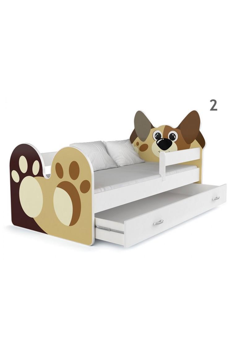 lit enfant chienchien avec tiroir. Black Bedroom Furniture Sets. Home Design Ideas