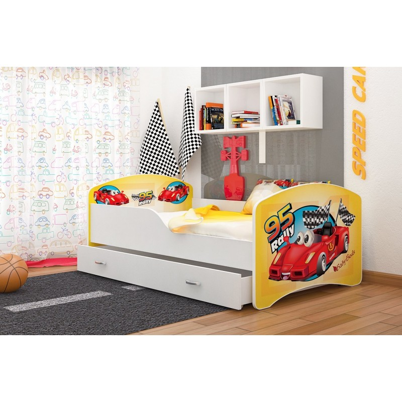 lit enfant collection de dessins avec tiroir. Black Bedroom Furniture Sets. Home Design Ideas