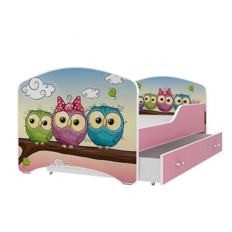 Lit enfant Collection de Dessins avec tiroir