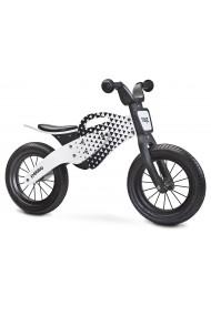Enduro gris draisienne bois de vélo sans pédales