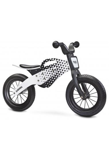 Enduro rouge bois de vélo sans pédales